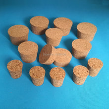 10pcs Top DIA 32mm to 83mm Wood Cork Lab Test Tube Plug Essential Oil Pudding Small Glass Bottle Stopper Lid