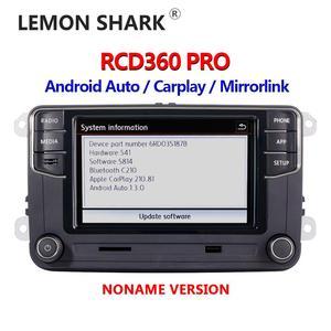 Image 2 - RCD360 PRO NONAME Android Tự Động Carplay Mới RCD330 187B MIB Đài Phát Thanh Cho VW Golf 5 6 Jetta MK5 MK6 Tiguan CC Polo Passat 6RD035187B