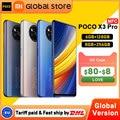 В наличии глобальная версия POCO X3 Pro 6 ГБ 128 ГБ/8 ГБ 256 ГБ NFC Смартфон Snapdragon 860 33 Вт Quad AI камера 120 Гц DotDisplay 5160 мАч