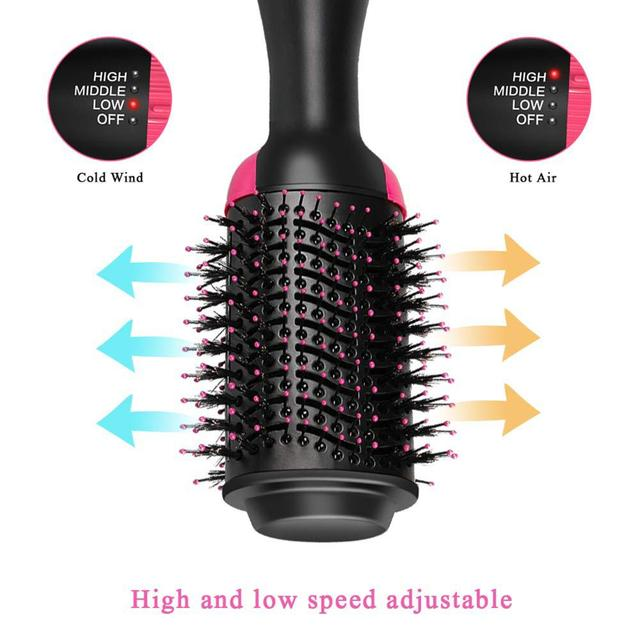 One Step Hair Dryers And Volumizer Blower Professional 2-in-1 Hair Dryers Hot Brush Blow Drier hair dryer and hair straightener 2
