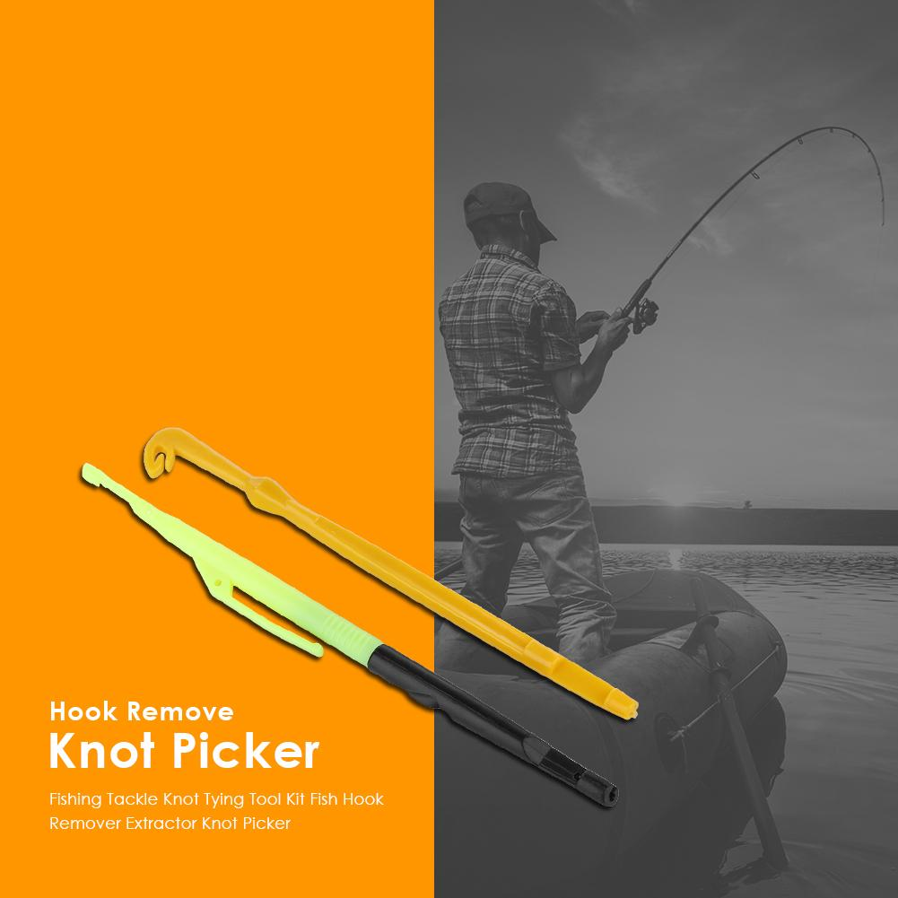 Tool Fishing Tackle Fish Hooker Hook Remover Knotting Tool Unhooking Device
