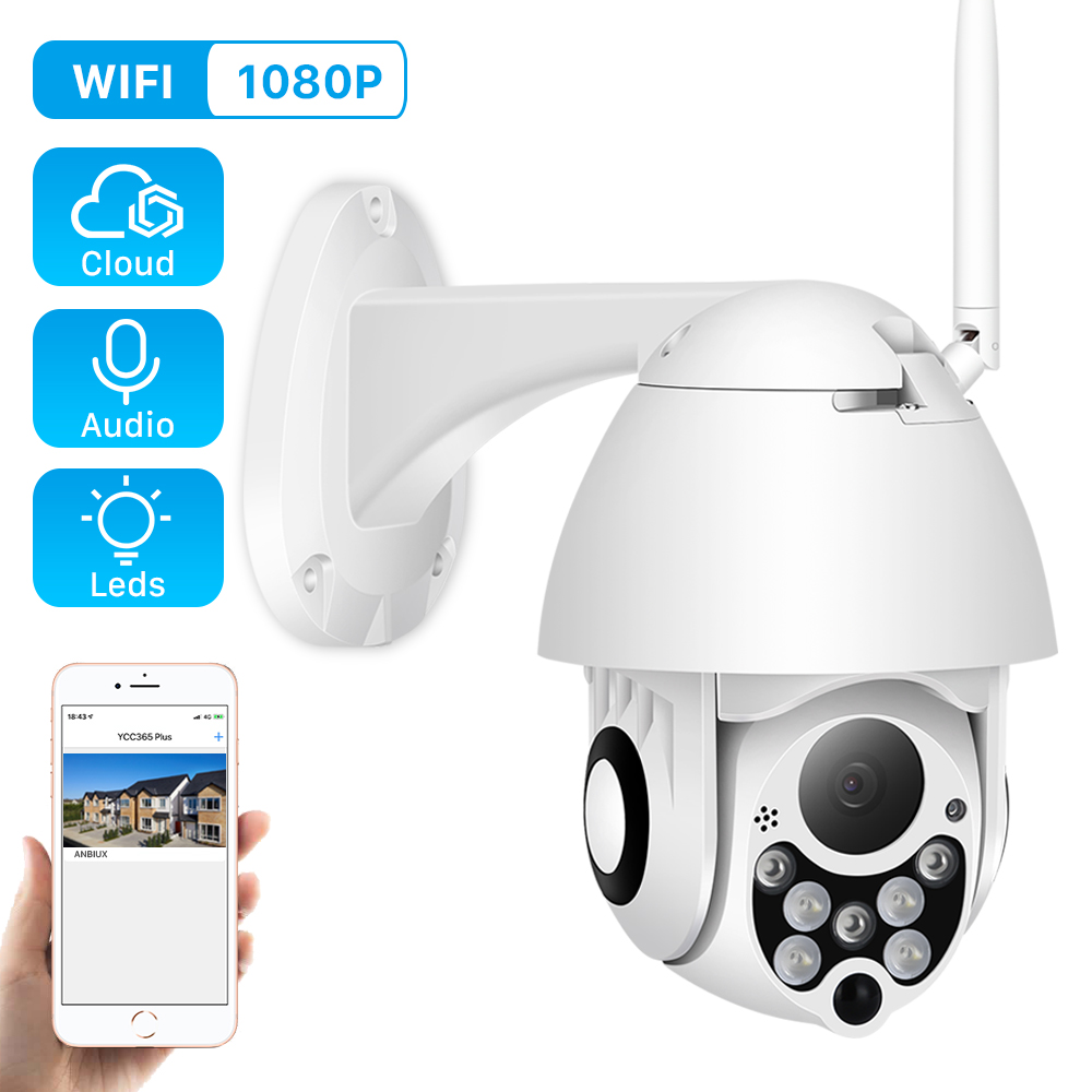 ANBIUX Ip-Camera Network-Cctv Wifi Tilt Dome Outdoor-Speed Surveillance Wireless Zoom