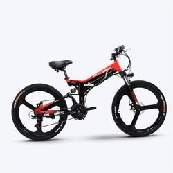 26 inch electric mountain biccycle fold Ebike pas ebike 500w high speed motor electric assist bike off-road e-bike