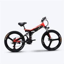Bicicletta elettrica personalizzata da 26 pollici pieghevole Ebike pas ebike 500w motore elettrico ad alta velocità bici elettrica fuoristrada Smart e-bike