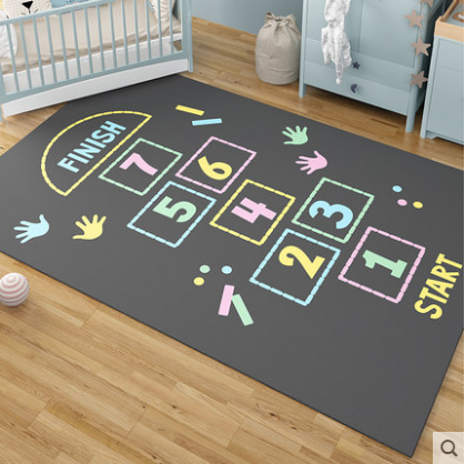 Baby Infant Play Mats Kids Round Crawling Carpet Floor Rug Baby Bedding Blanket Cotton Play Game Pad Children Room Decor