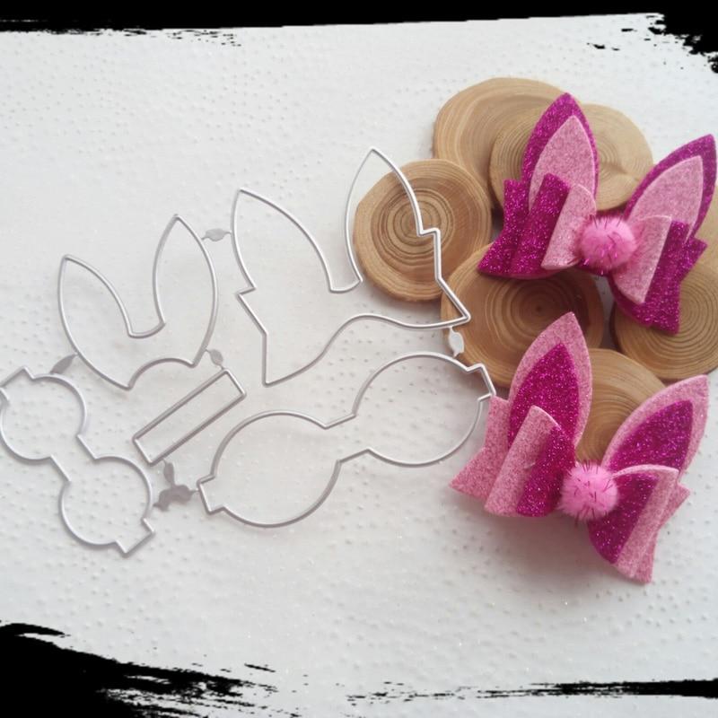 3779Beautiful Cutting Die Bow Template DIY Scrapbook Metal Cutting Die Paper Card Process Embossing Folder Template