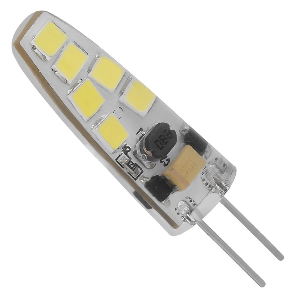 ICOCO G4 Mini None-Dimmable <font><b>COB</b></font> Lamp 2W/5W/7W AC/DC <font><b>12V</b></font> <font><b>LED</b></font> Light 360 Beam Angle Chandelier Replace Halogen Lamps Wholesale image