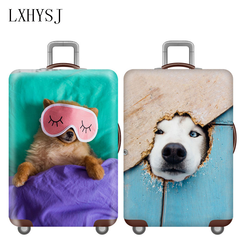 Thicken Luggage Cover Elasticity Trolley Dust Cover Suitcase Protection Cover For 18-32 Inch Suitcase Case Travel Accessories