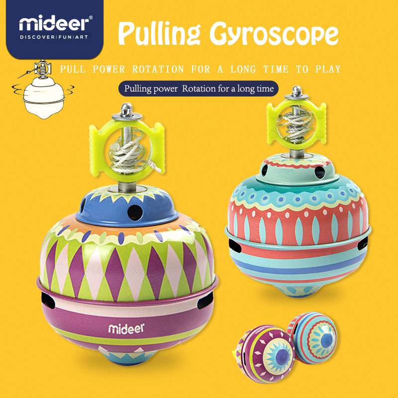 MiDeer Spinner Metal  Pulla Gyro Fidget Spinners  Metal Spinner Gyro Toys Toys For Children Autism Toys  > 3 Years Old