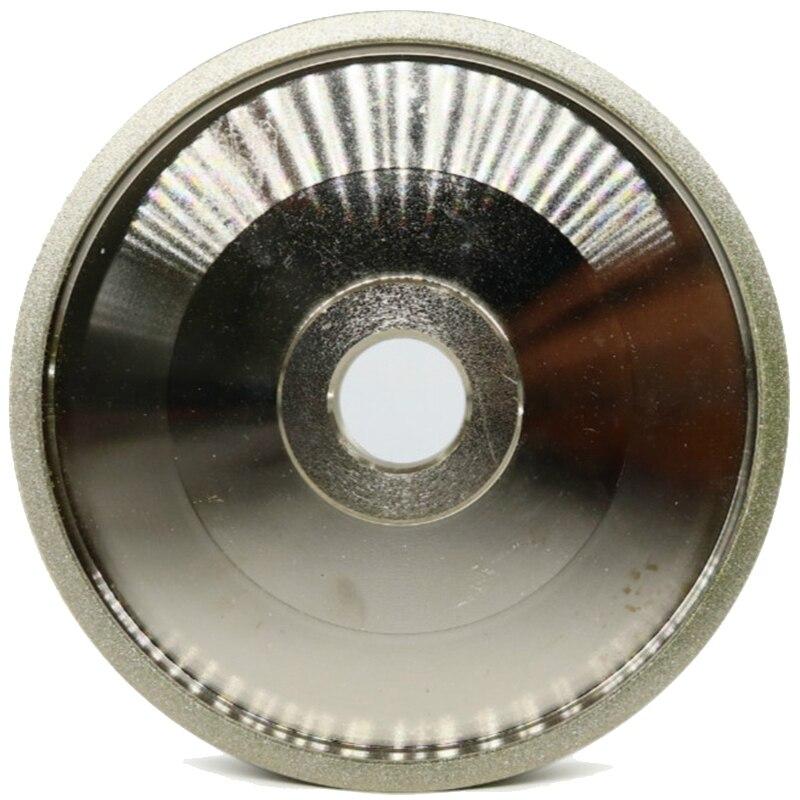 150 Grit Cbn Grinding Wheel Diamond Grinding Wheels Diameter 150Mm High Speed Steel For Metal Stone Grinding Power Tool H5 Grinding Wheels     - title=