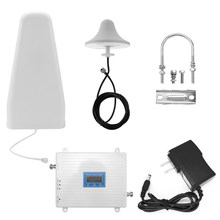 Universal Signal Booster Intelligente Repeater Kit 2G/3G/4G LTE Tri Band Verstärker 900 1800 2100 GSM DCS WCDMA 110-220V(China)