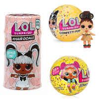 Überraschung LOL Puppen Farbe Ändern Ei Konfetti Pop Serie Kleid Puppe Magie Ball Action-figur Kinder Spielzeug Für Kinder Weihnachten