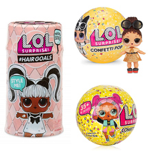 Get more info on the Surprise LOLS Dolls Color Change Egg Confetti Pop Series Dress Doll Magic Ball Action Figure Kids Toys For Children Christmas