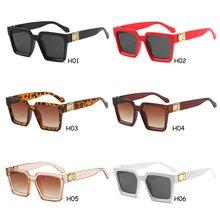 Новинка квадратные поляризованные солнцезащитные очки черные