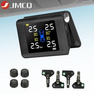 JMCQ Car TPMS Solar Tire Press