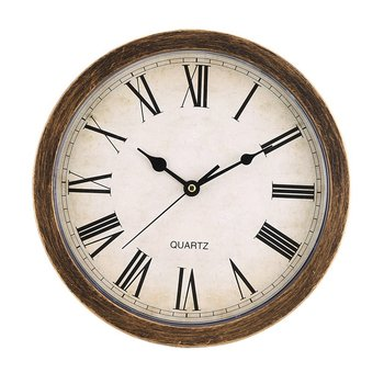 Nordic Style Vintage Wall Clock & Storage Box