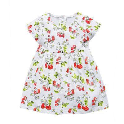 Vidmid/детский летний комплект одежды для девочек; хлопковое платье принцессы для девочек; праздничные платья с короткими рукавами; Одежда для...