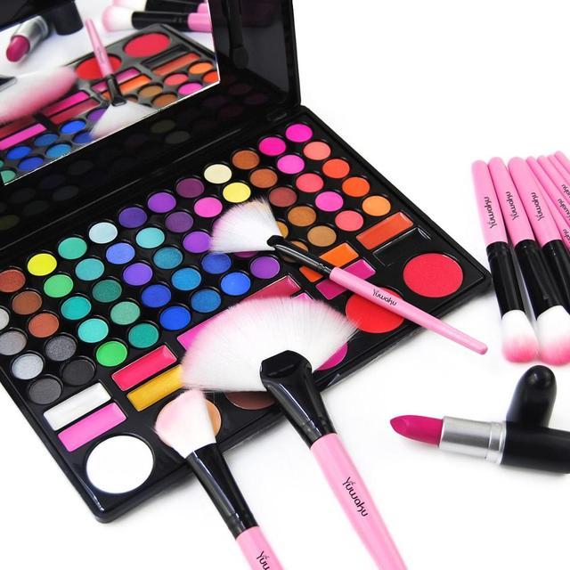 Kaizm 5 Colors 32Pcs Makeup Brush Foundation Eye Shadows Powder Brushes with Bag pincel maquiagem Brushes Kits Cosmetic Brushes 3