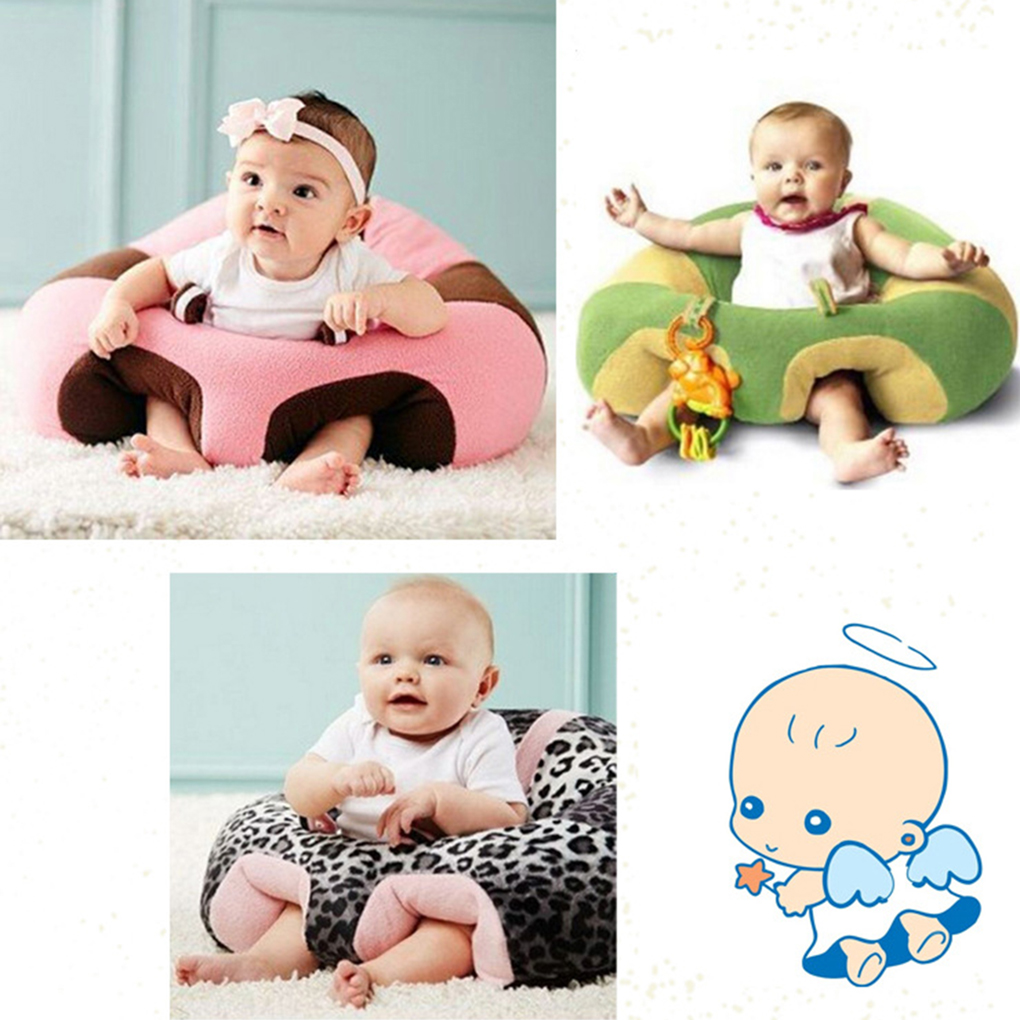 Baby Support Seat Plush Soft Baby Sofa Infant Learning To Sit Chair Safety Keep Sitting Feeding Chair