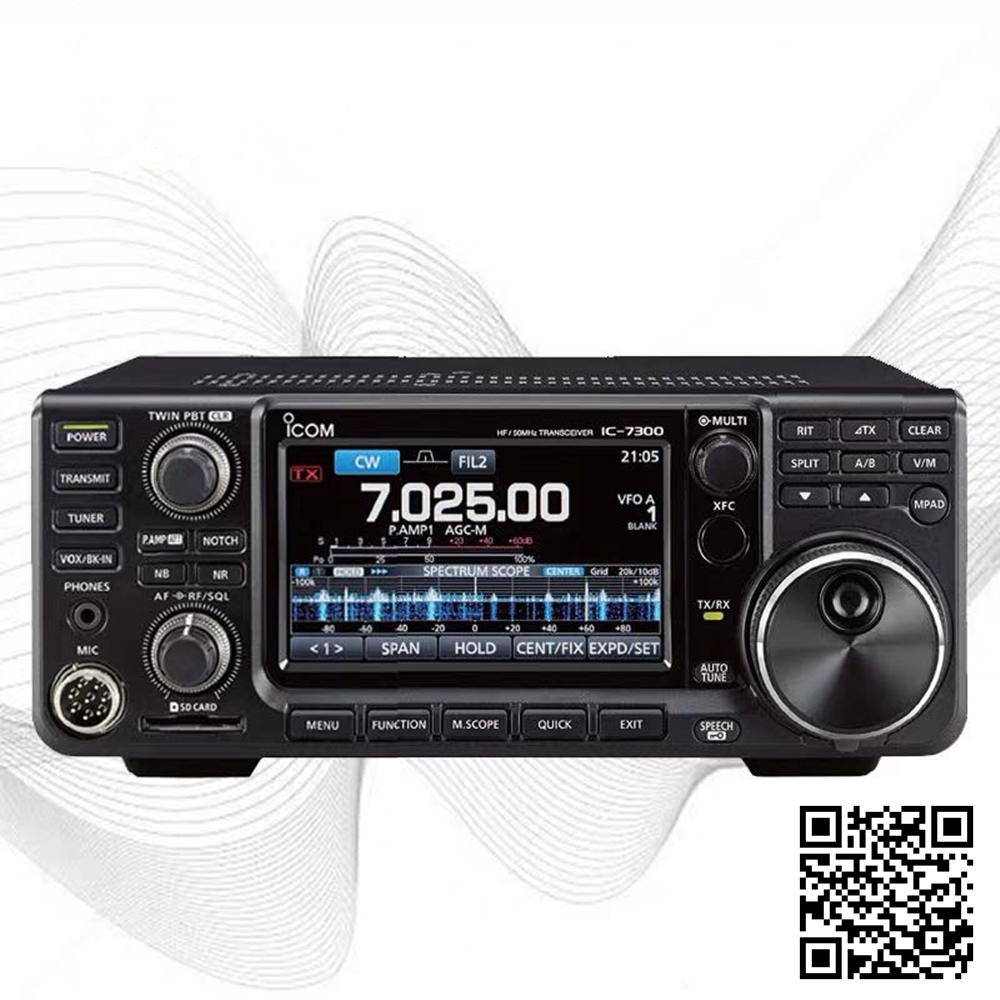 ICOM IC-7300 Base Station Shortwave Radio Fixed Station Amateur Radio HF Emergency Communication