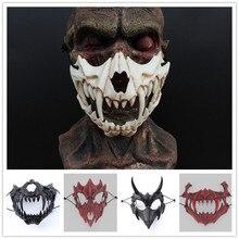 Новые 3 цвета маска японского Бог дракона Экологичная и натуральная Смола Маска животных Тема вечерние косплей маска тигра ручной работы