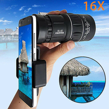 Newly Waterproof High Definition Monocular Telescope Spotting Scope Phone Photography Adapter for Bird Watching Secenery night hunting high definition ranging belt division line 13x50 hd spotting scope telescope