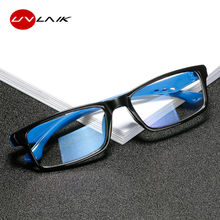 UVLAIK Anti Blue-ray Glasses Frame Women Retro Fashion Anti-blue Light Men Vintage Trendy Blocking Blue Eyewears Frames