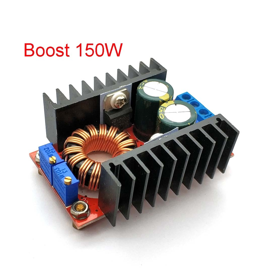 10-<font><b>30V</b></font> To <font><b>12</b></font>-35V Step Up CV CC 150W 10A <font><b>DC</b></font> <font><b>DC</b></font> Boost Converter Car Power Supply LED Driver Charger Adjustable Voltage Regulator image