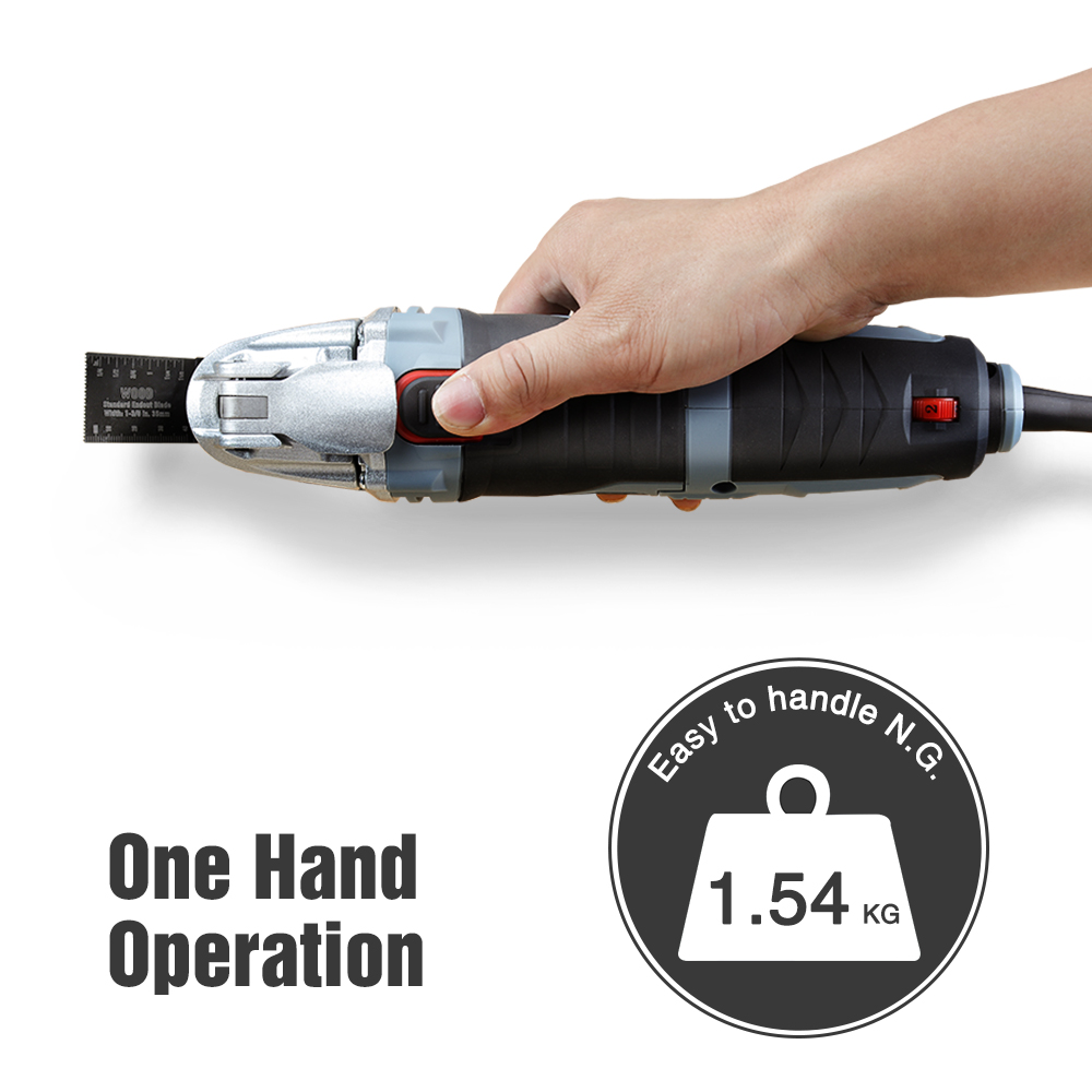 Multi With DIY Woodworking WORKPRO Electric Oscillating Renovator Kit Tool Accessory Home Trimmer 250W 40pc  Tool Tool Saw