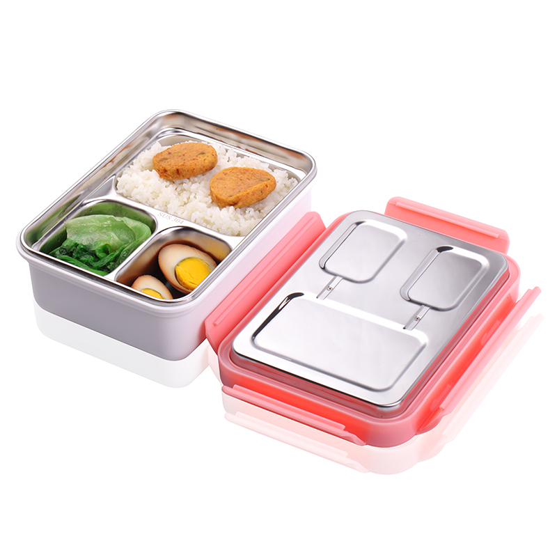 220V Heated Lunch Box Portable Vacuum Fresh-keeping Insulation Hot Rice Pregnant Women Student Lunch Box Office Worker Lunch Box