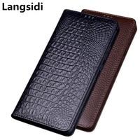 Business luxury genuine leather magnetic holder flip case cover for Umidigi One Max/Umidigi One/Umidigi One Pro phone case coque