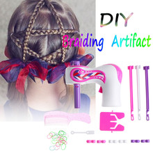 DIY Electric Automatic Hair Braider Three Strands Hair Braid