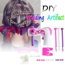 DIY Electric Automatic Hair Braider Three Strands Hair