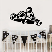 Colorful motorbike Wall Stickers Home Furnishing Decorative Sticker For Decor Living Room Bedroom