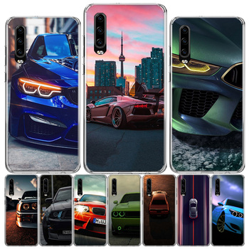 Blue white black For BMW!! Phone Case For Huawei P40 P30 P20 P10 Mate 10 20 30 Lite Pro P Smart Z Plus 2019 Cover Shell Coque image