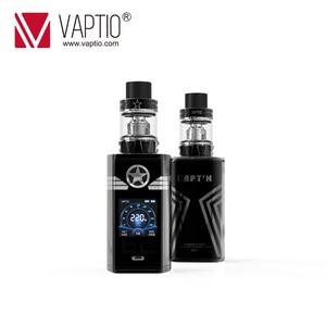 "Image 3 - Vaptio Captn 220w Vape Kit Anti leak Electronic Cigarette 1.3"" Screen Box Mod 2ML 4ML Atomizer 0.005s Fire Various Mode Flavor"