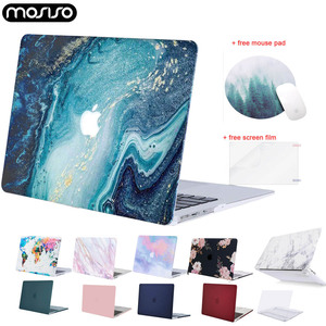 MOSISO for Macbook Air Retina Pro 13 15 touch bar Laptop Shell Case A1706 A1989 A2159 A1466 A1932 Air 13 inch Case Cover 2019