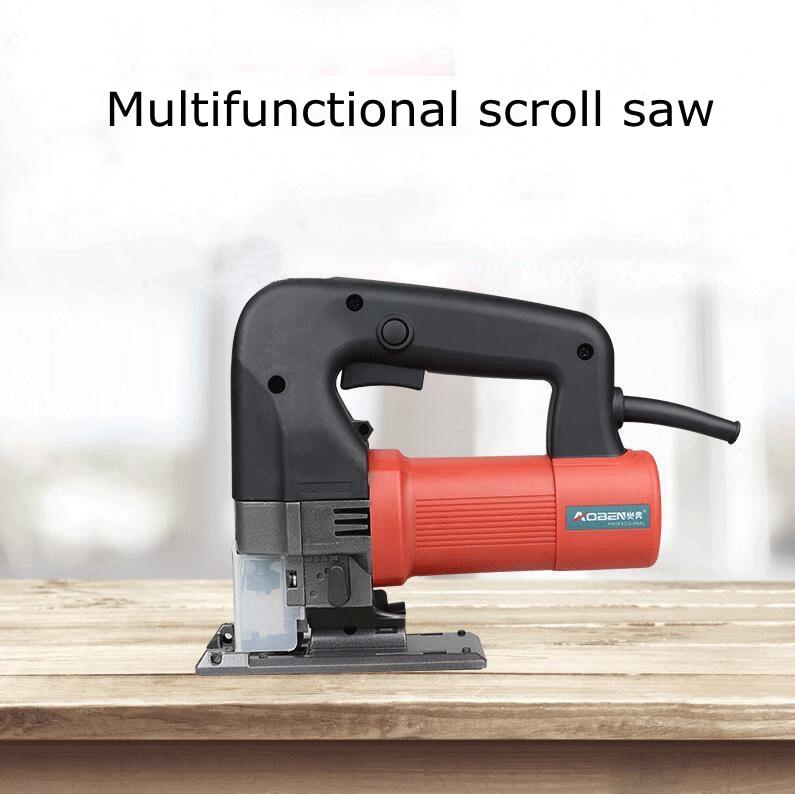 500 w scroll saw multifuncional ac 220 v velocidade ajustável do agregado familiar madeira de alta potência metal alumínio ferramentas corte