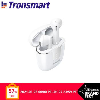 Tronsmart Onyx Ace-Bezprzewodowe słuchawki douszne TWS bluetooth 5 0 Qualcomm aptX redukcja szumów z 4 mikrofonami czas odtwarzania 24 godz tanie i dobre opinie Ucho Rohs Dynamiczny CN (pochodzenie) Prawda bezprzewodowe 42dB Do Gier Wideo Wspólna Słuchawkowe Dla Telefonu komórkowego