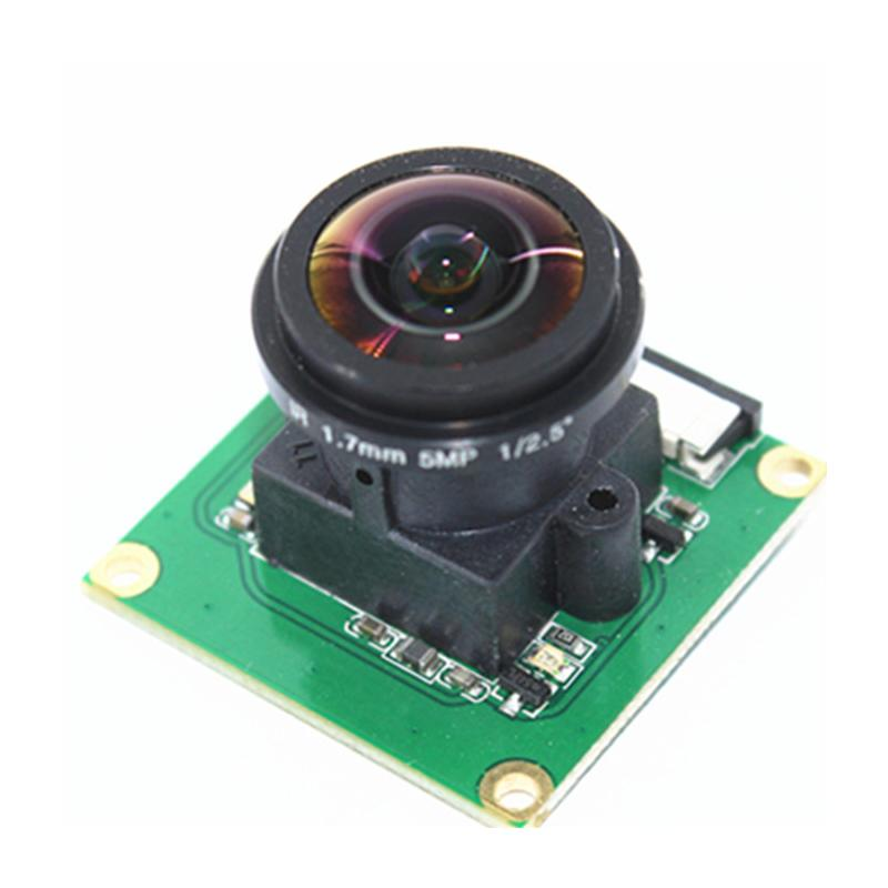 For Raspberry Pi Camera Module OV5647 5MP 175 Degree Wide Angle Fisheye Lens Raspberry Pi 3/2 Model B Camera Module