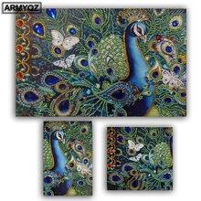 Peacoc животный узор специальная форма алмазная картина diy