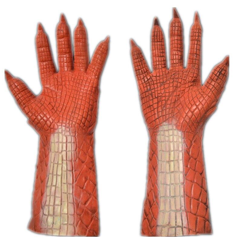 恶魔红色手套2