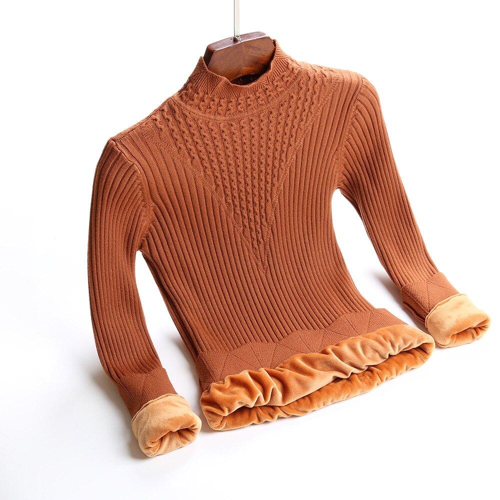 Купить толстый теплый женский пуловер размера плюс m xl модный вязаный