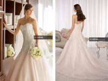 Новинка сексуальное свадебное платье с аппликацией длинное ТРАПЕЦИЕВИДНОЕ