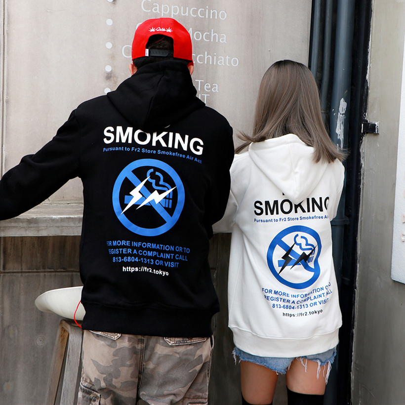 FR2 Hoodies Sweatshirt Men Women Pullover No Smoking Cotton Hoody #fr2 FXXKING Rabbits