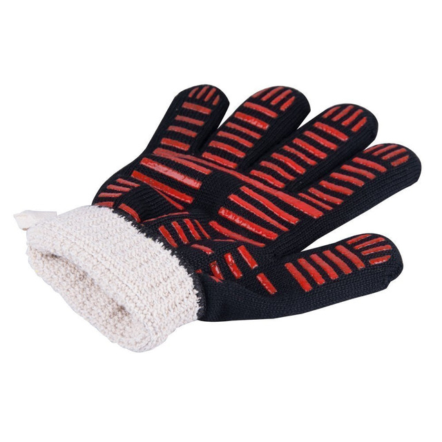 1hand bakewere Oven Mitts Gloves BBQ Silicon gloves High Temperature Anti-scalding 500/800 Degree Insulation Barbecue Microwave 5