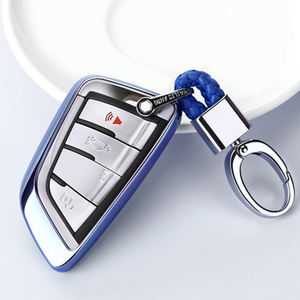 Image 1 - 2019 nouveau étui souple pour voiture pour BMW X5 F15 X6 F16 G30 7 Serie G11 X1 F48 F39 coque de voiture porte clés de Protection
