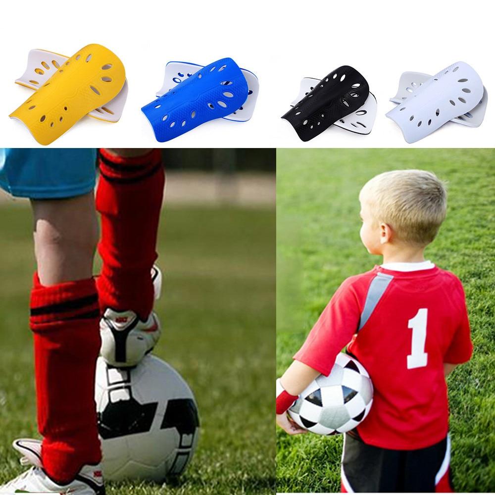 1 Pair Child Soccer Training Shin Guards Shin Pads Football Protector Brace Gear