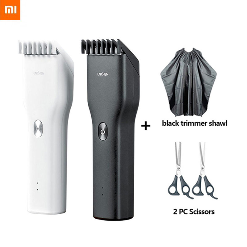 Xiaomi ENCHEN Boost USB Electric Hair Clipper Two Speed Ceramic Cutter Hair Fast Charging Hair Trimmer Children Hair Clipper|Smart Remote Control| - AliExpress