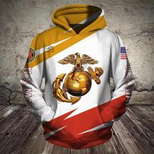 Men Women United States America US Marine peace print 3D Hoodies Funny policeman Sweatshirt Fashion Hooded Long Sleeve zipper Pullover tshirt tee tracksuit united states military armed forces full size ribbon us merchant marine expeditionary